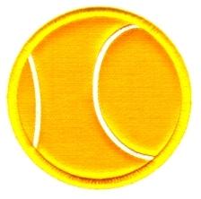 Apliques - Pelota de tenis