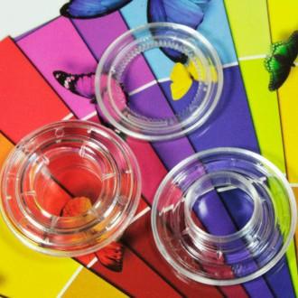 ollaos de plastico transparente