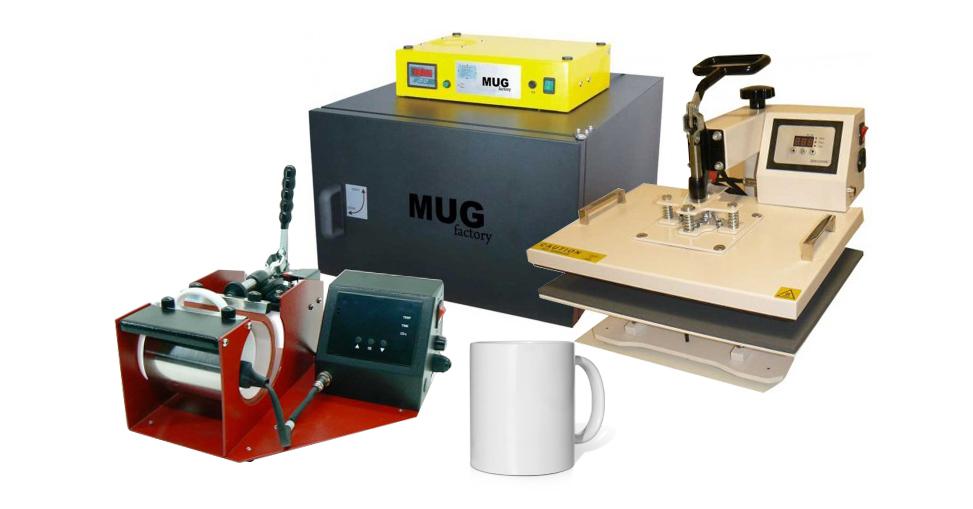 Sublimación, Estampación vinilo textil, apliques, mugs