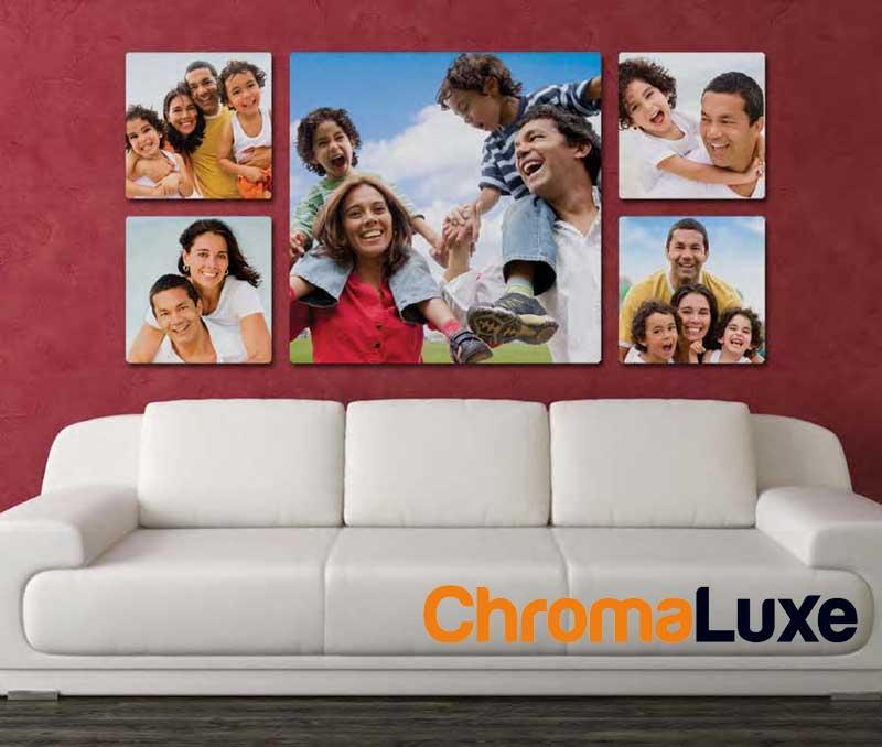 paneles fotograficos Chromaluxe