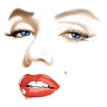 Diseño transfer Marilyn