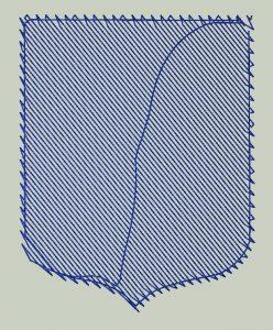 Paso 1 Picaje de Bordado con Pre Frame