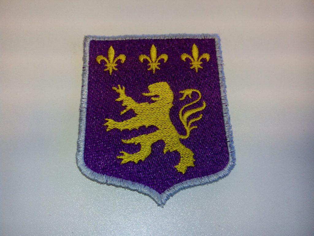 Emblema bordador con Pre Frame