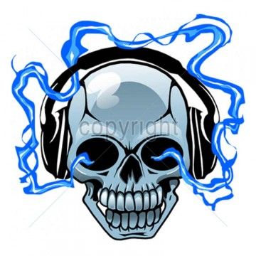 diseno-transfer-calavera-con-auriculares