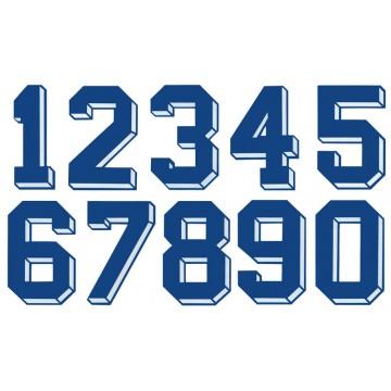 Elige tu número para el marcaje de camisetas deportivas! 1048166735c6c