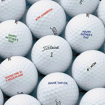 Impresion directa sobre pelotas de golf