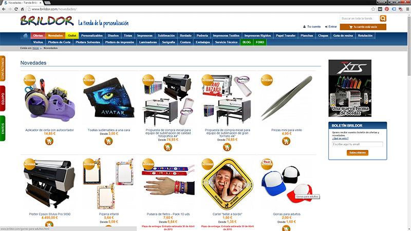 Brildor, la tienda online