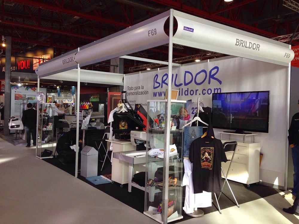 El stand de Brildor en Cprint 2014