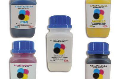 Tinta Dupont para impresoras textiles, envase de 250ml