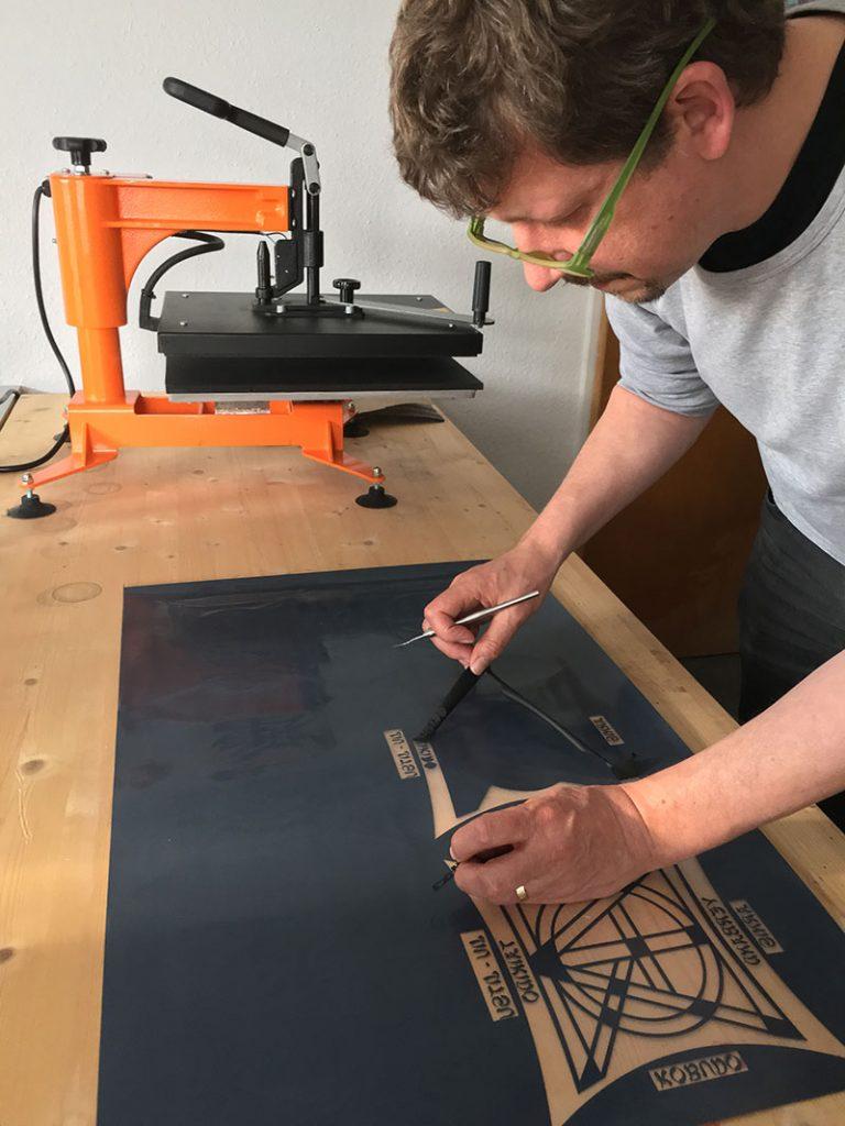 Holger Beck experto en vinilo textil