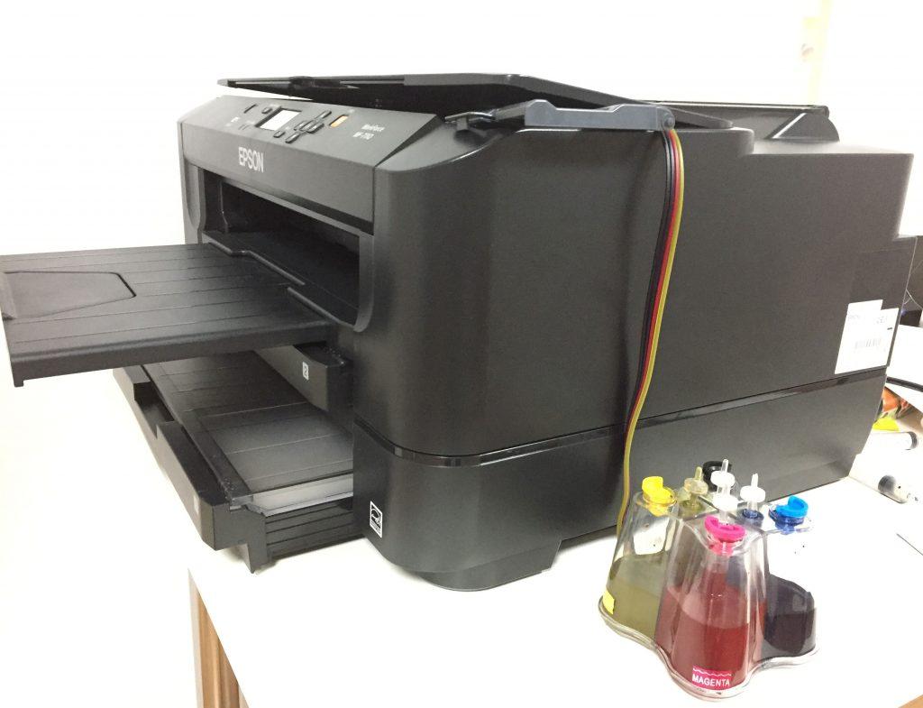 Impresora sublimación con CISS