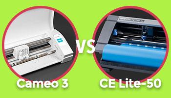 CE LITE-50 vs Cameo 3