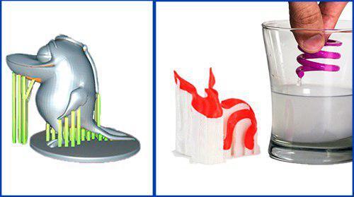 Filamento PVA hidrosoluble