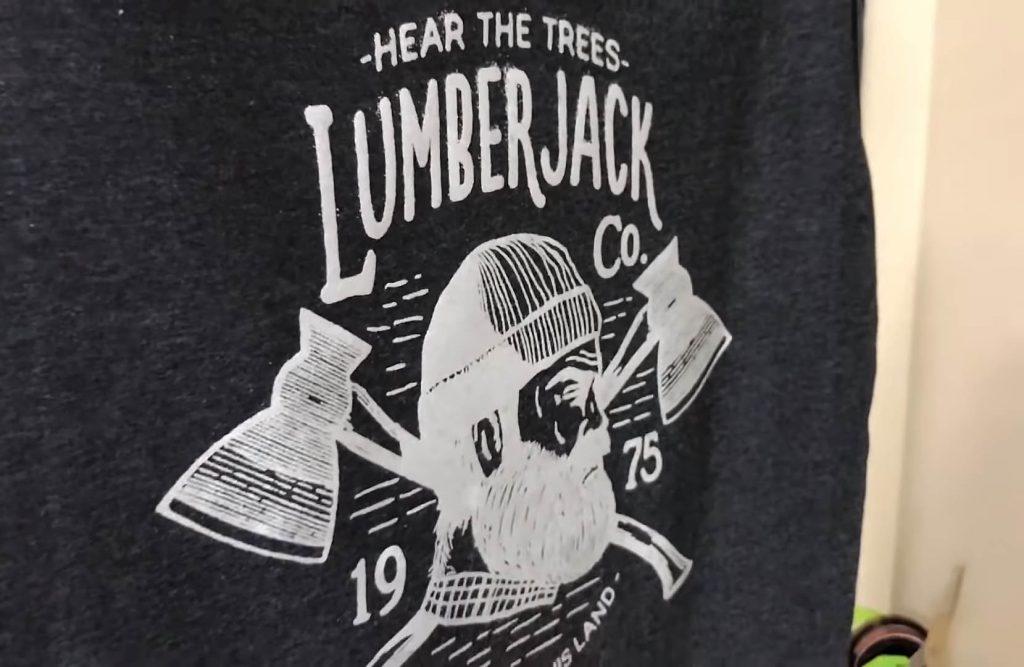 Estampar camiseta con láminas flock