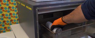 Sublimación en horno sin vacío con bolsas termoencogibles