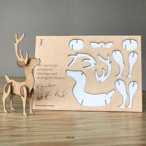 Recortable puzzle madera corte lásre