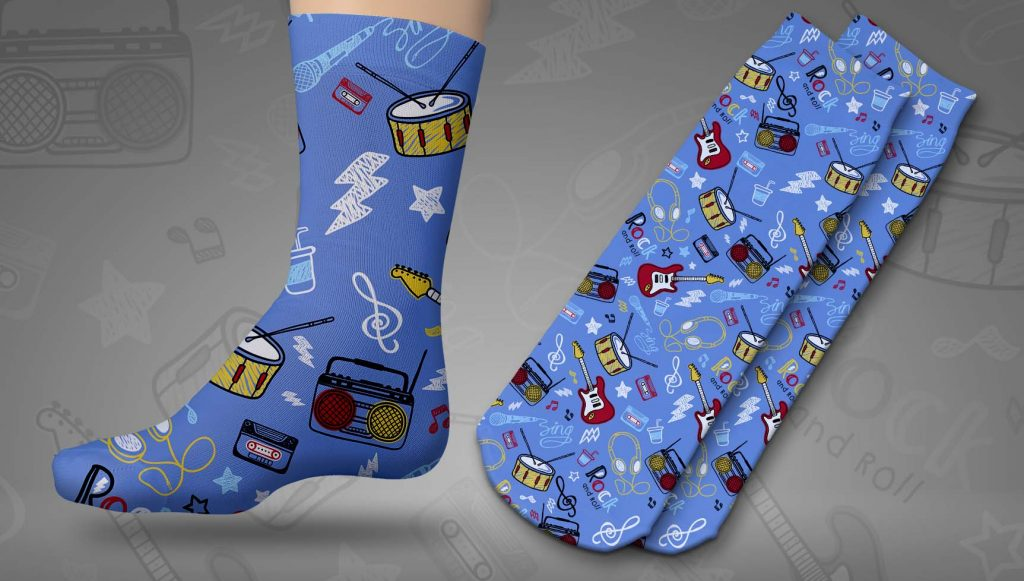calcetines personalizados sublimación
