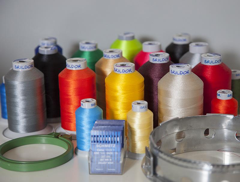 Técnica de bordado para personalización