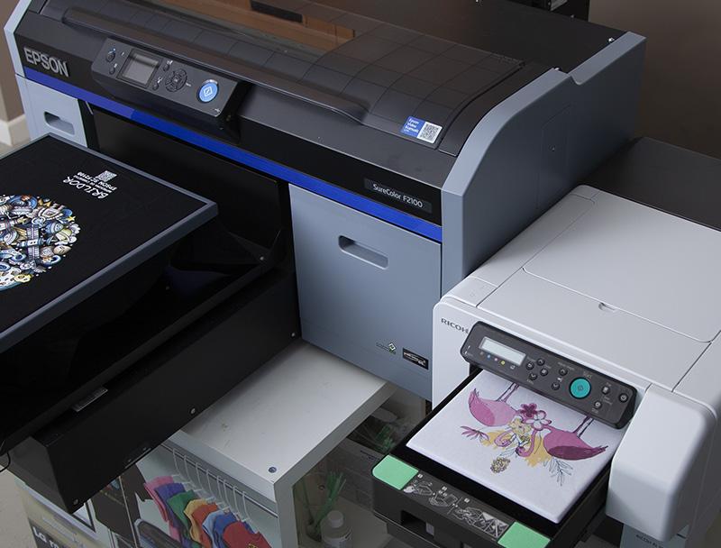 Técnica de personalización por impresión digital directa