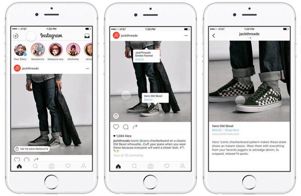 Instagram shopping para aumentar las ventas tu negocio de personalización