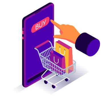 Venta por Internet productos  de personalización