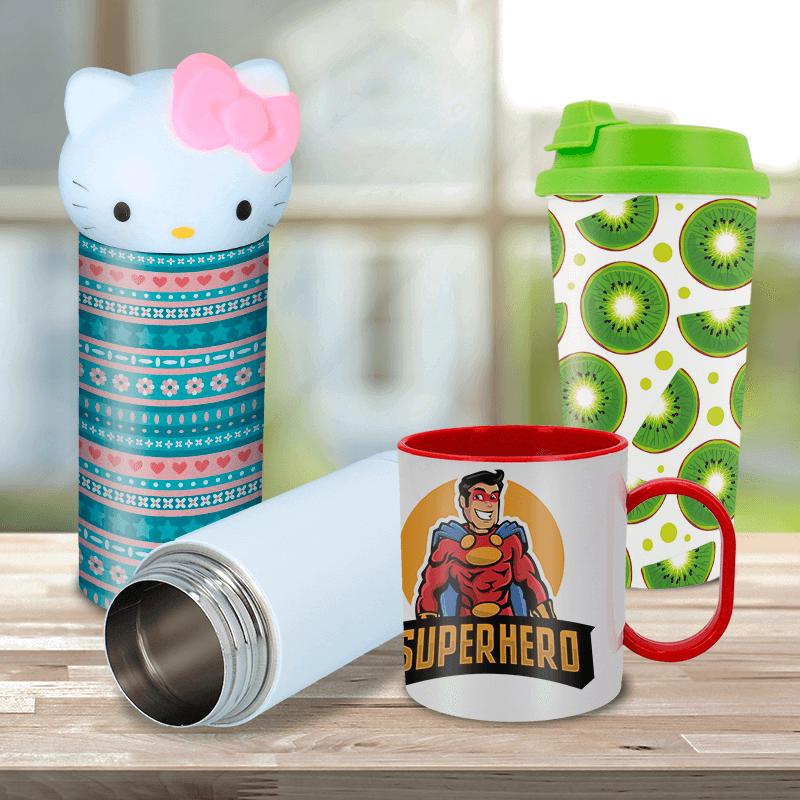 Termos y tazas personalizadas con sublimación