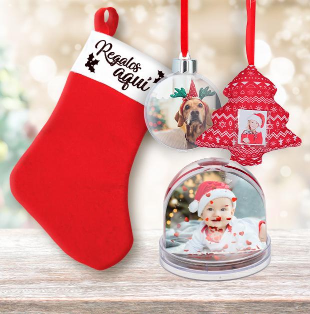 Adornos y bolas para regalar en Navidad