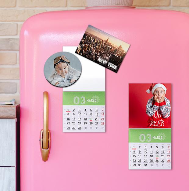 Calendarios imanes para Navidad
