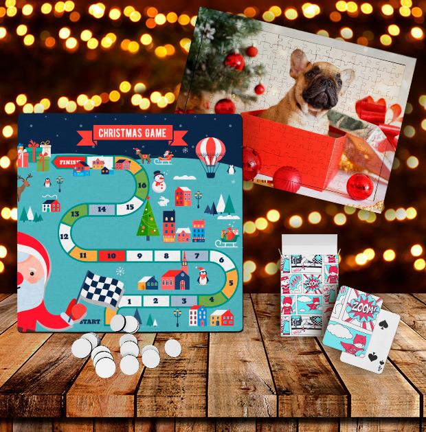 Juegos de mesa y puzles para Navidad