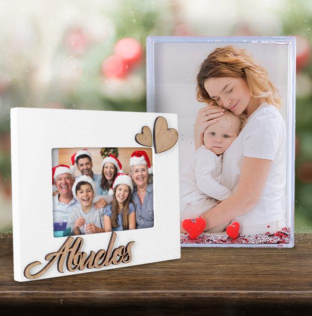 Portafotos para regalar en Navidad