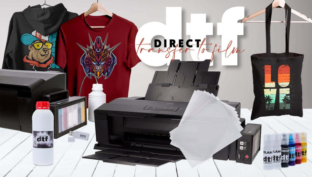 DTF Direct transfer to film