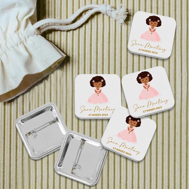 Chapas personalizadas para comuniones