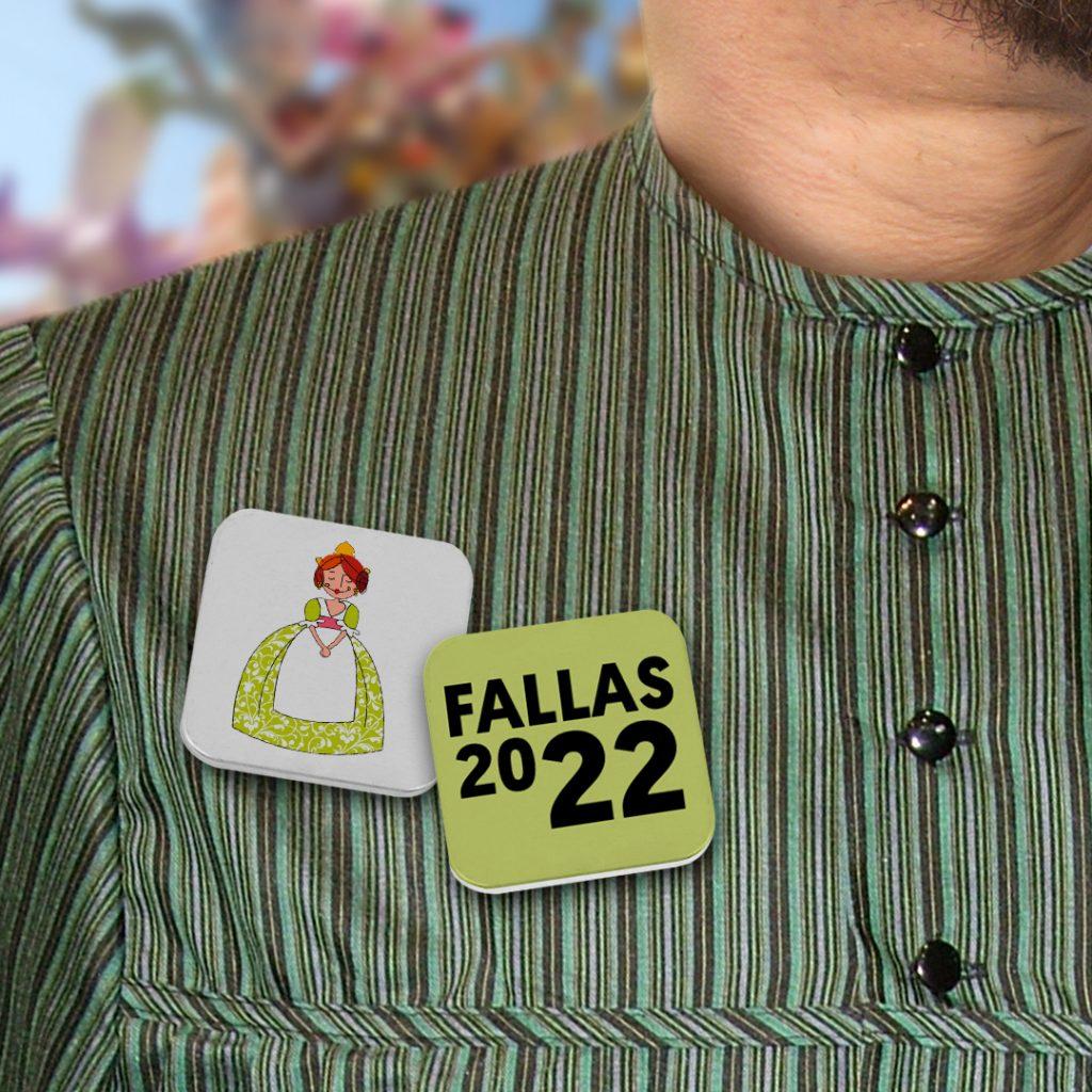 Chapas personalizadas para fiestas locales