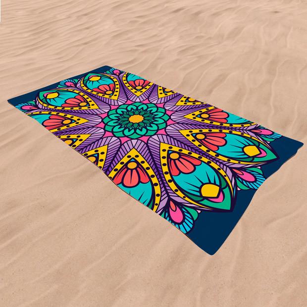 Toalla playa personalizada