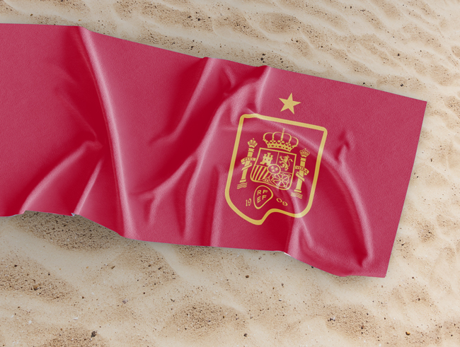 Toalla personalizada Selección Española
