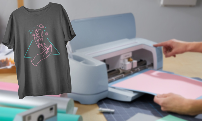 Camiseta personalizada con vinilo textil y plotter de corte