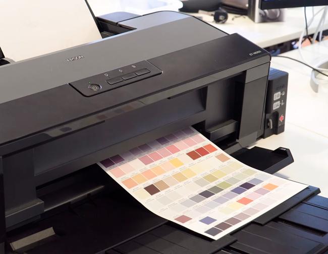Perfiles de color en impresora de sublimación