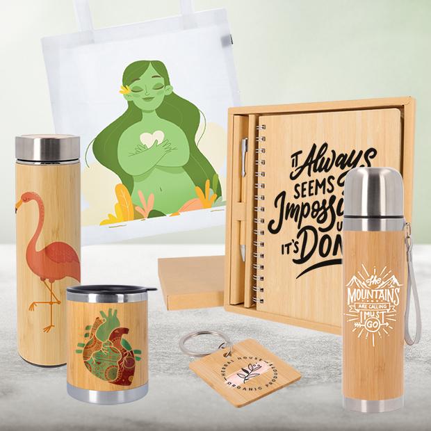 Productos Eco Friendly serigrafiados