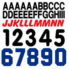 Números y letras