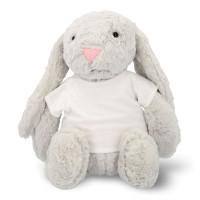 Peluche conejo con camiseta para sublimación
