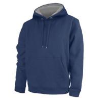 Sudadera Unisex con capucha 100% poliéster tacto algodón