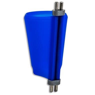 Abrazadera de silicona para vaso de chupito