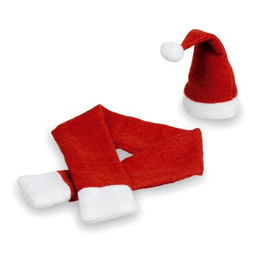 Adorno para botellas Papá Noel - Pack de 5 uds
