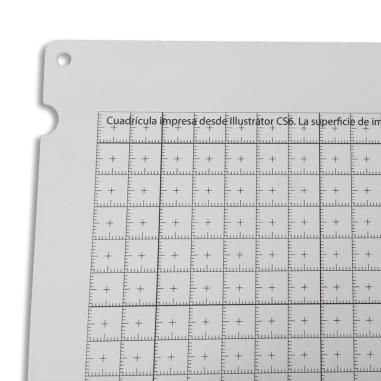 Base de trabajo milimetrada para Impresora UV para rígidos Mutoh ValueJet 426UF