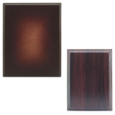 Bases de madera caoba para láminas