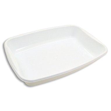 Bandeja de plástico rectangular de 4 litros - Vista superior