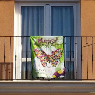 Banderola para balcon de 78 x 102 cm - Ejemplo 1