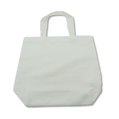 Bolsa de tela blanca de 360 x 390 m
