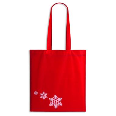 Bolsa TST navideña asas largas - Pack de 10 uds