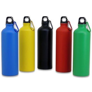 Botella de viaje de 800ml color mate